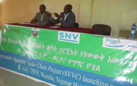 ORDA Sustainable value chain project (SVVC) launching workshop conducted