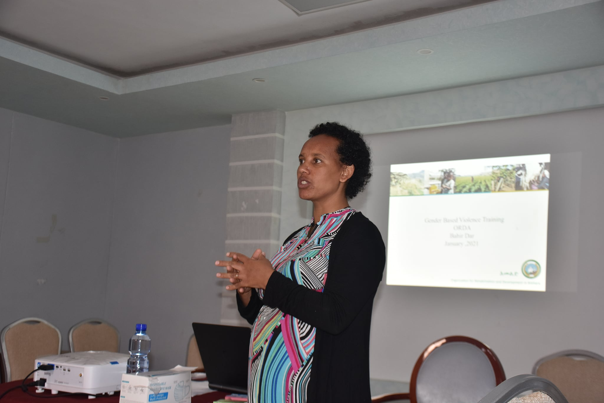 Training has been given to mitigating Gender-based violence