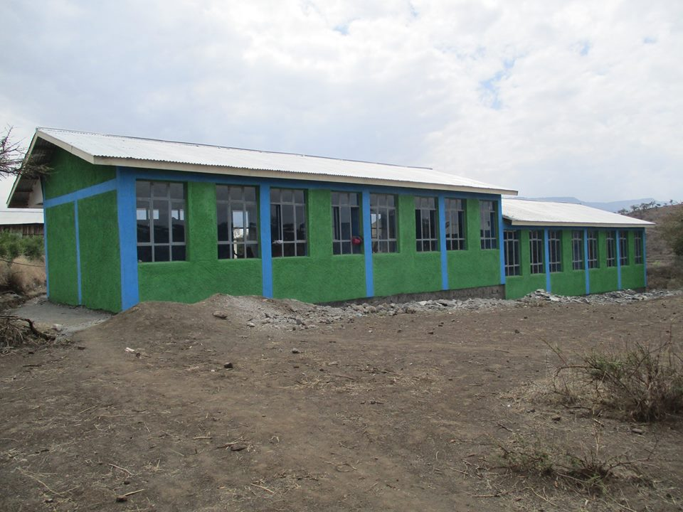 Lasta woreda Dog meda Primary school construction has completed.